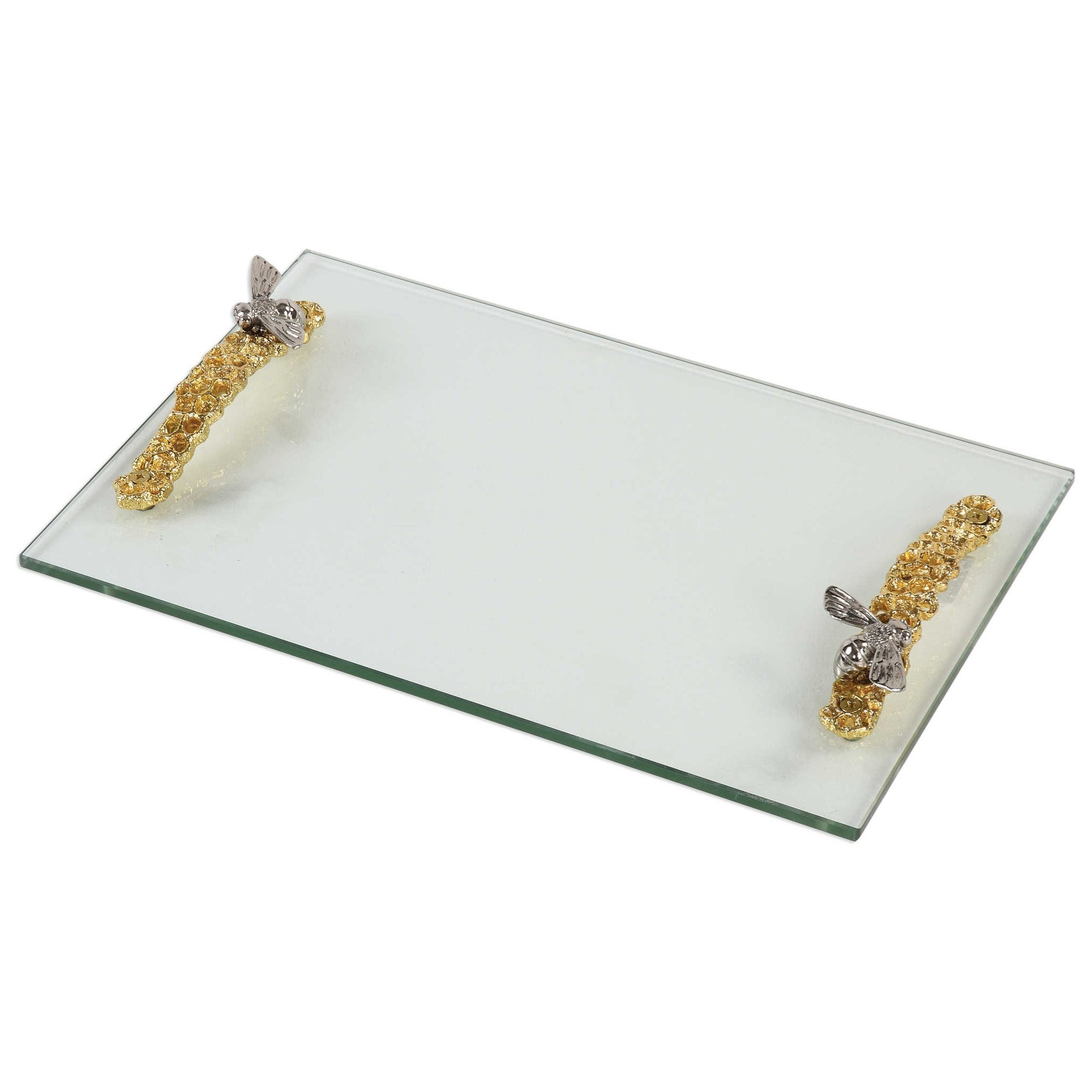 Hive Glass Tray