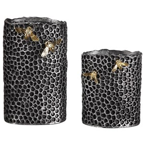 Hive Vases (Set of 2)