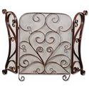 Uttermost Accessories Daymeion Fireplace Screen - Item Number: 20278