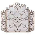 Uttermost Accessories Kora Metal Fireplace Screen - Item Number: 20467