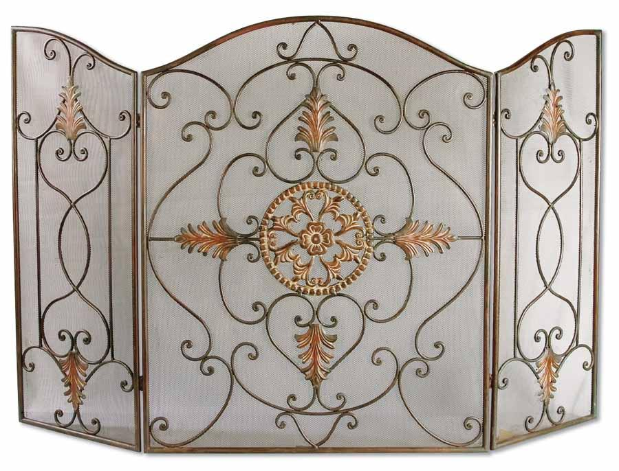 Uttermost Accessories Egan Fireplace Screen - Item Number: 20508