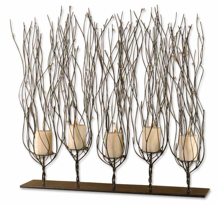 Uttermost Accessories Fedora Candleholder - Item Number: 20605
