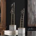 Uttermost Accessories Ladder Climb Sculpture (Set of 2)