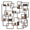 Uttermost Accessories Siam Candlelight Wall Sculpture - Item Number: 20850