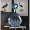 Uttermost Accessories Rae Sky Blue Vase