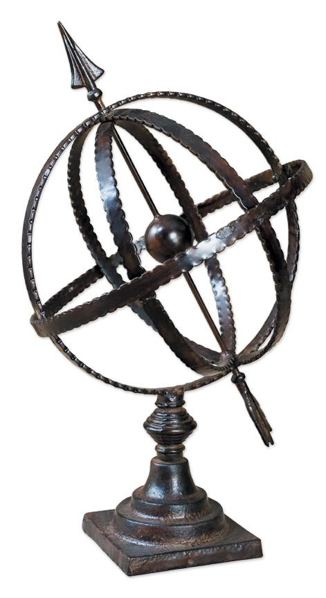 Uttermost Accessories Diez Globe - Item Number: 20991