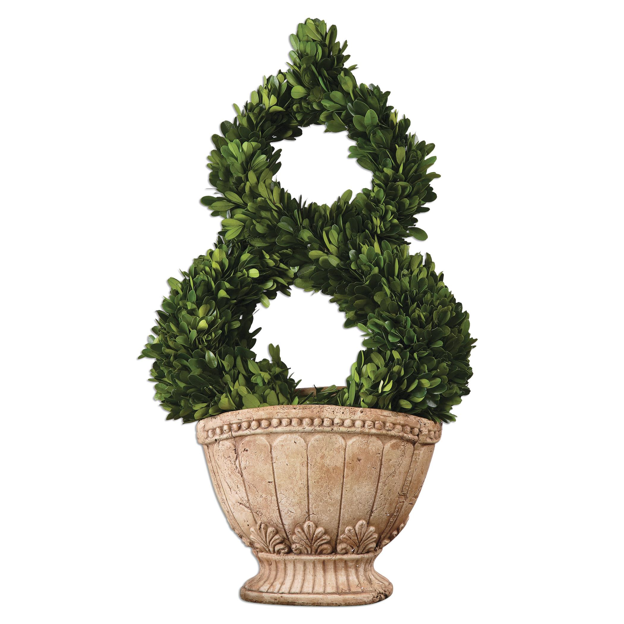 Uttermost Accessories Estate Trellis Preserved Boxwood - Item Number: 60114
