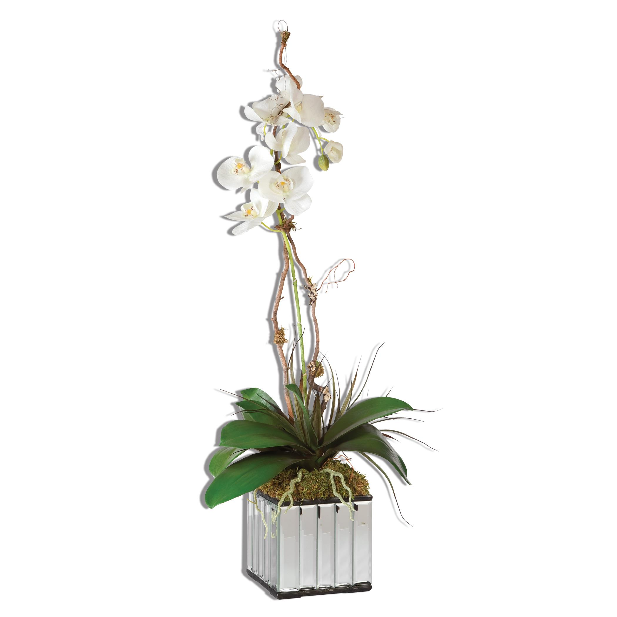 Uttermost Accessories White Kaleama Orchids - Item Number: 60122
