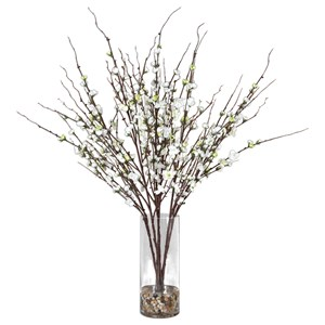 Uttermost Accessories Quince Blossoms Silk Centerpiece