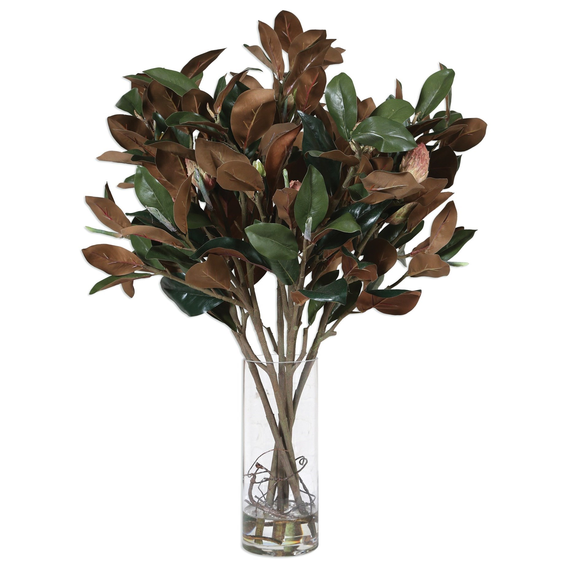 Uttermost Accessories Southern Magnolia Silk Centerpiece - Item Number: 60129