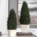 Uttermost Accessories Cypress Cone Topiaries, S/2