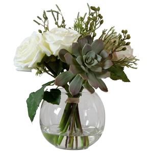 Belmonte Floral Bouquet & Vase