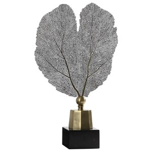 Uttermost Accessories Stamped Leaf Sculpture