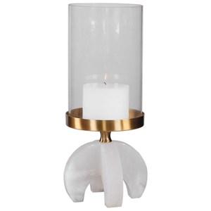 Alanea Alabaster Candleholder