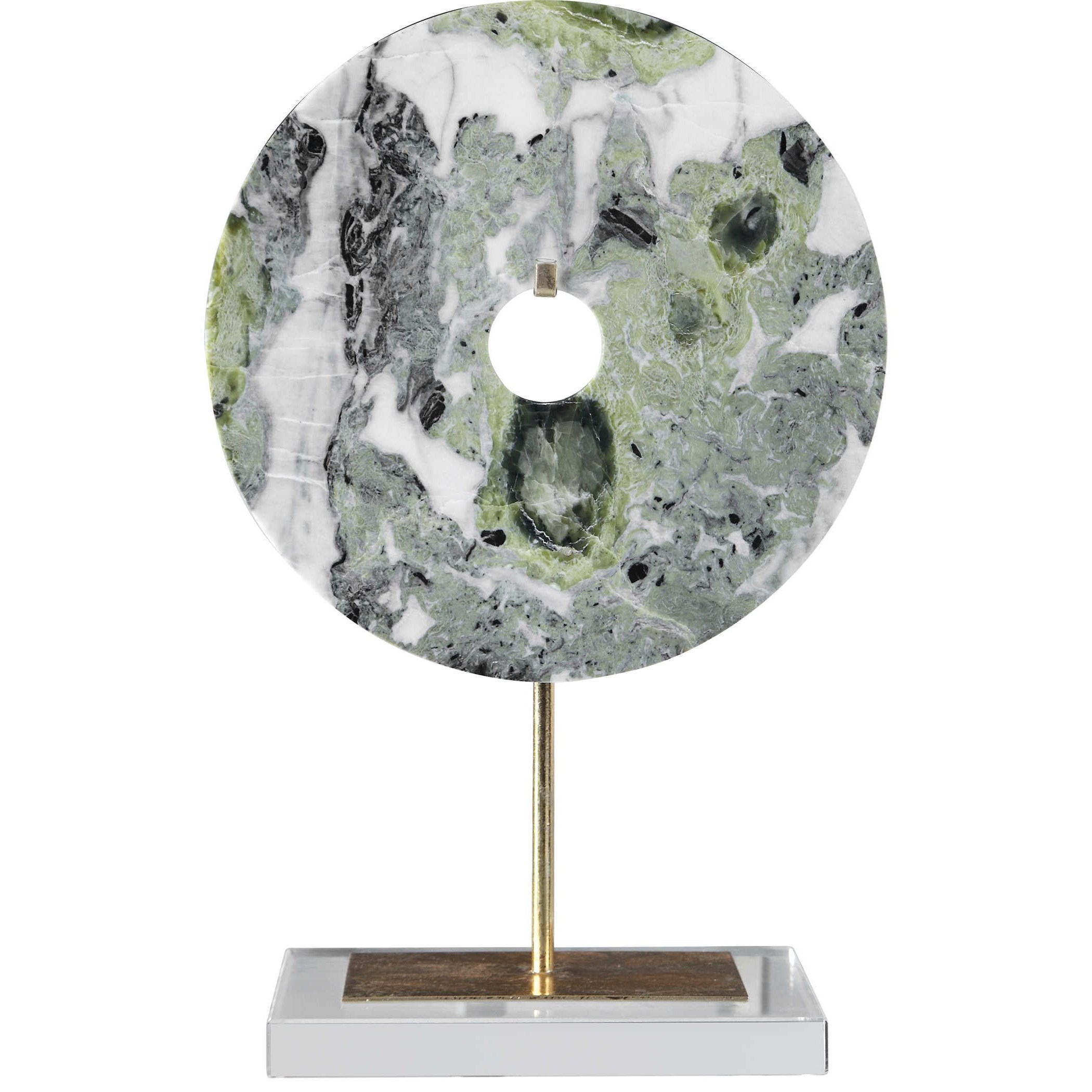 Irelyn Marble Disk Sculpture