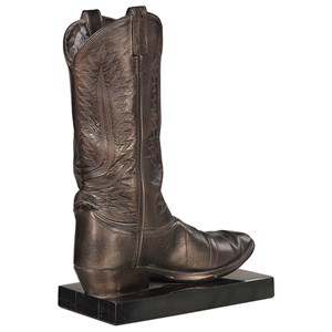 Boot Antique Bronze Sculpture