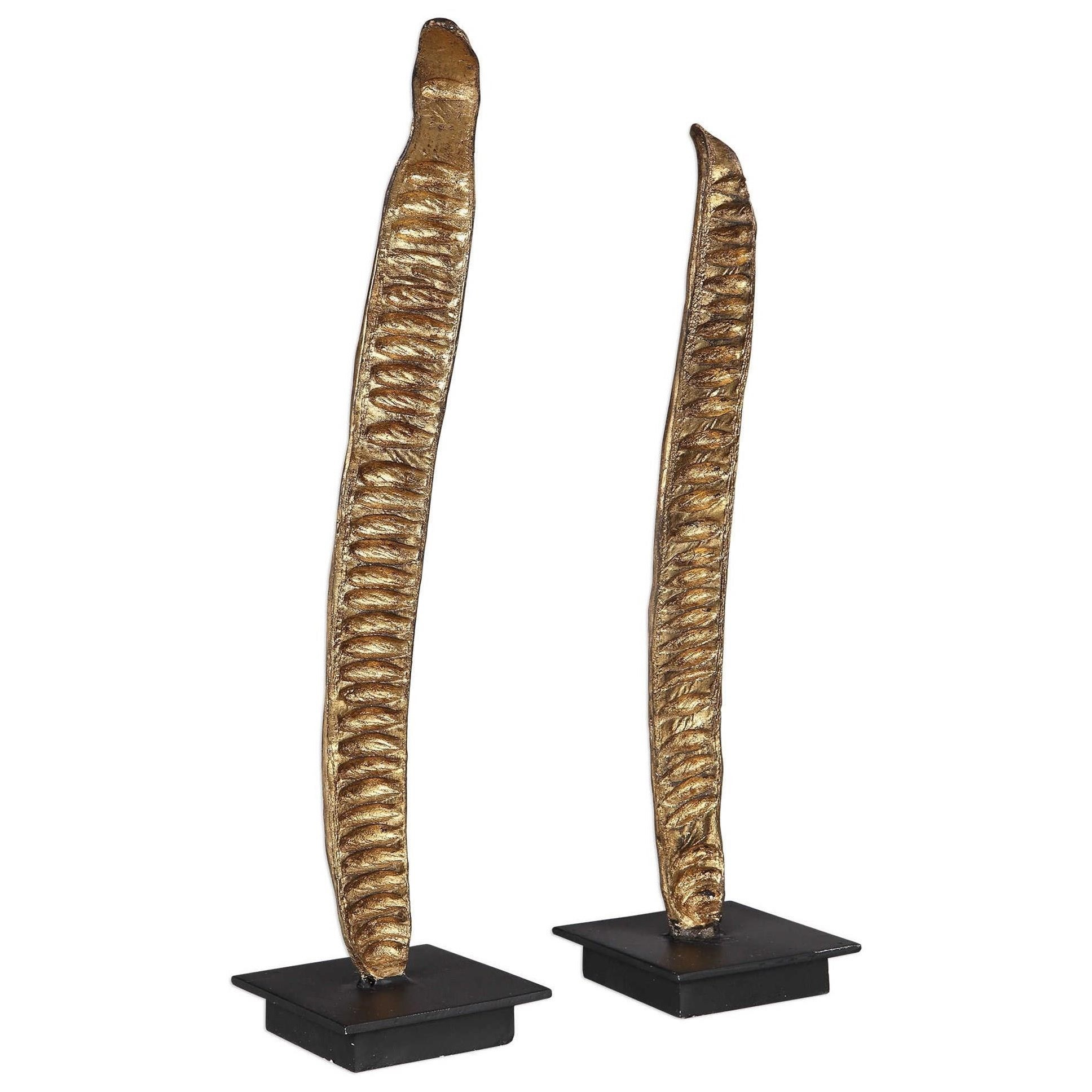 Poinciana Pod Sculptures, S/2