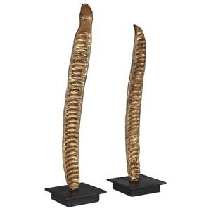 Poinciana Pod Sculptures, S/2