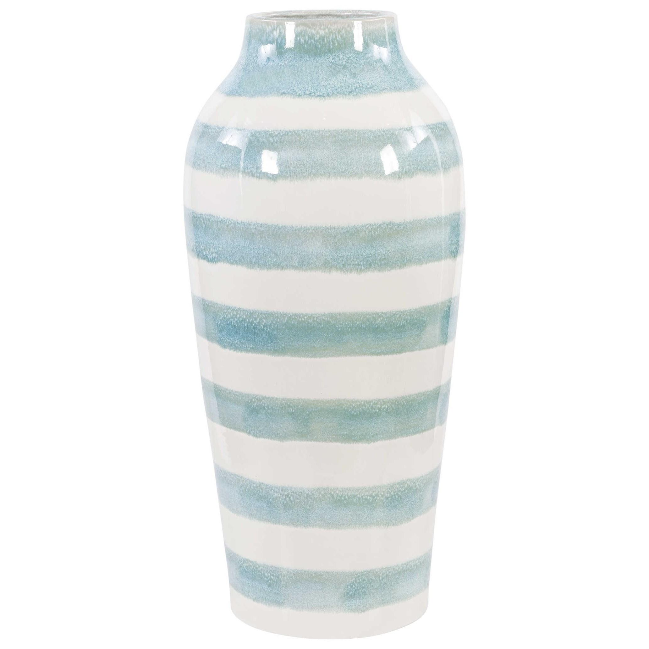 Ortun Striped Vase