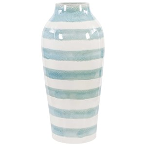 Ortun Striped Vase
