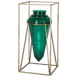 Ariga Emerald Green Vase