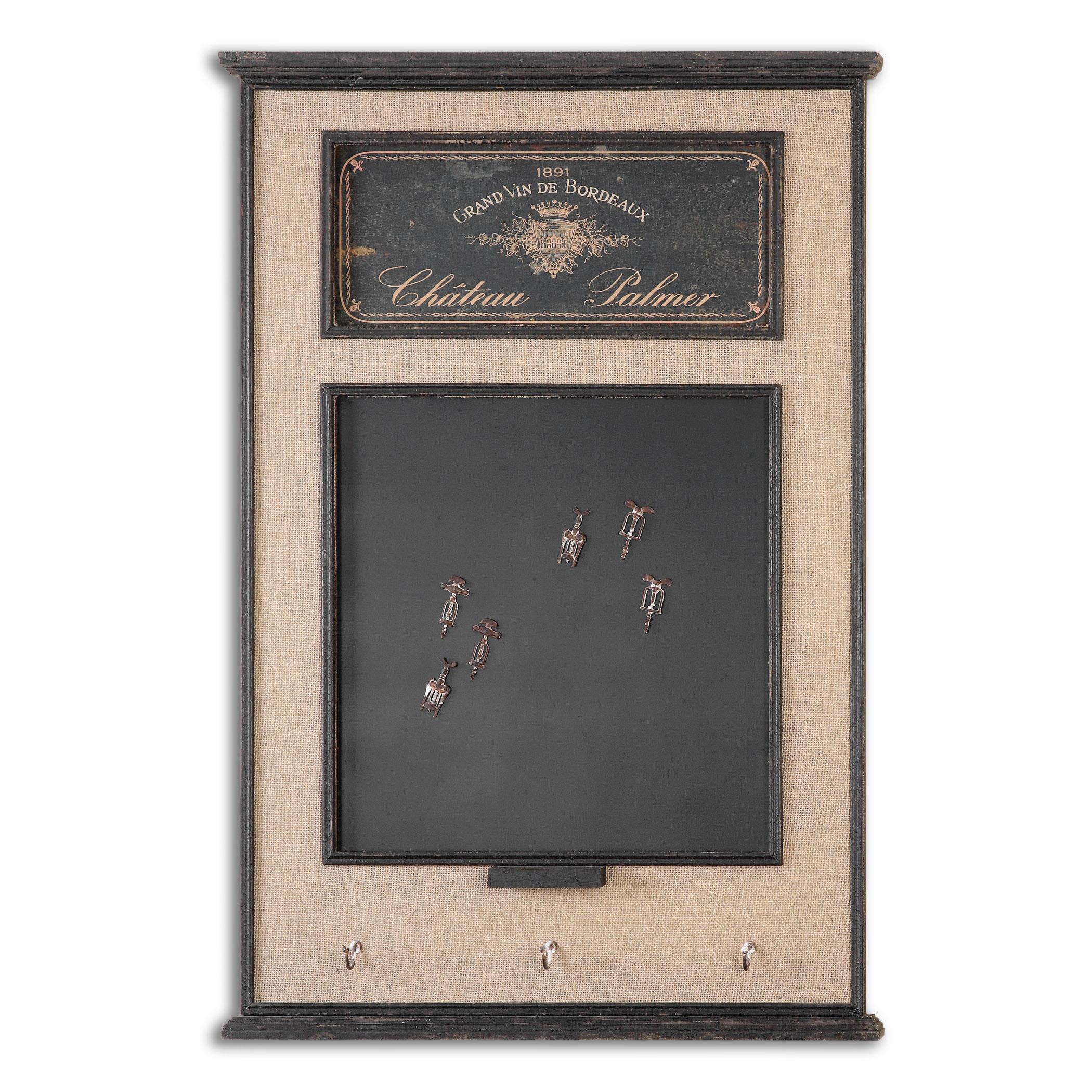 Uttermost Art Chateau Palmer Chalkboard - Item Number: 10510