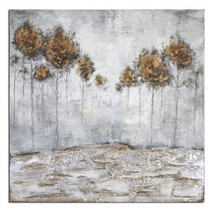 Uttermost Art Iced Trees Abstract Art