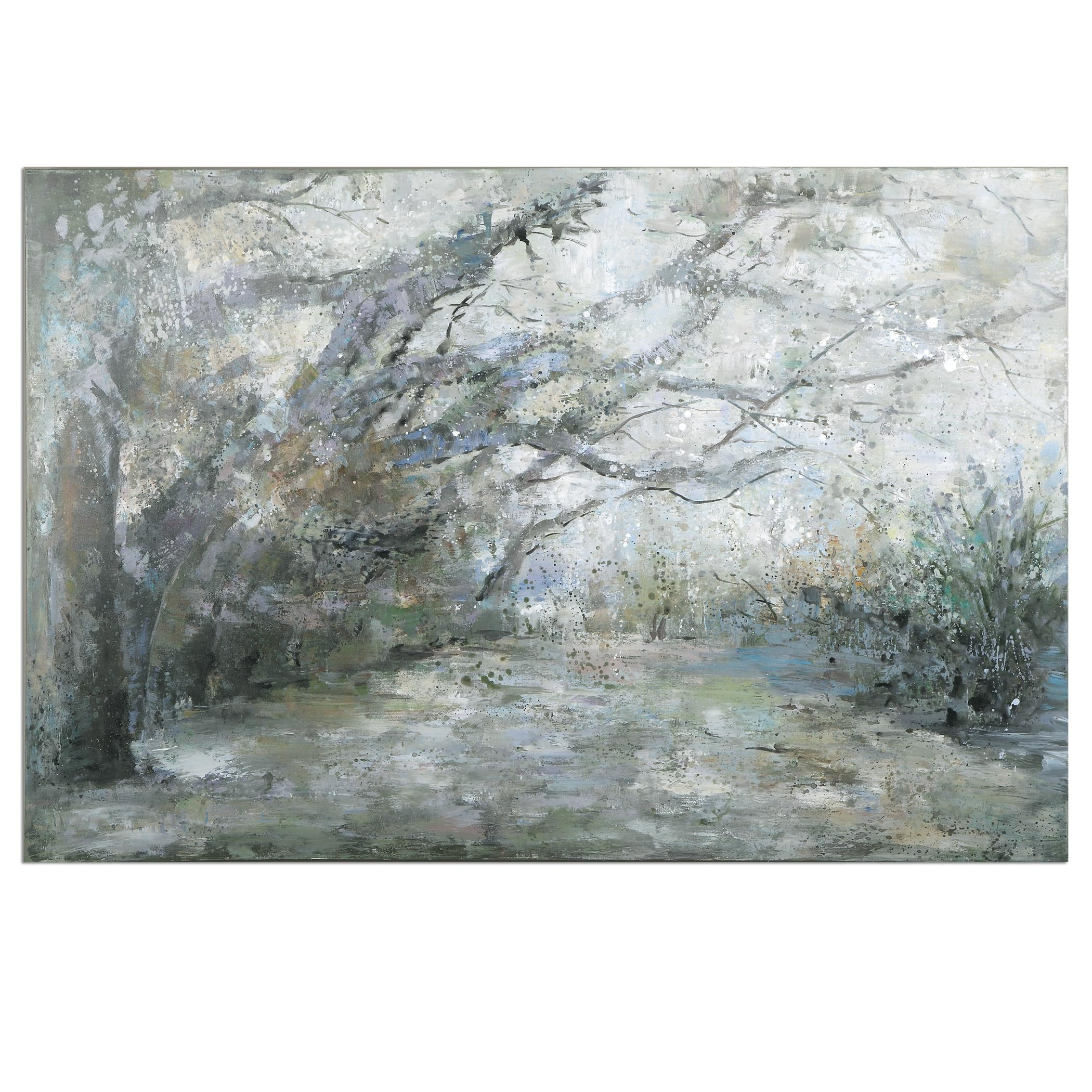 Uttermost Art Forest Lane Canvas Art - Item Number: 31314