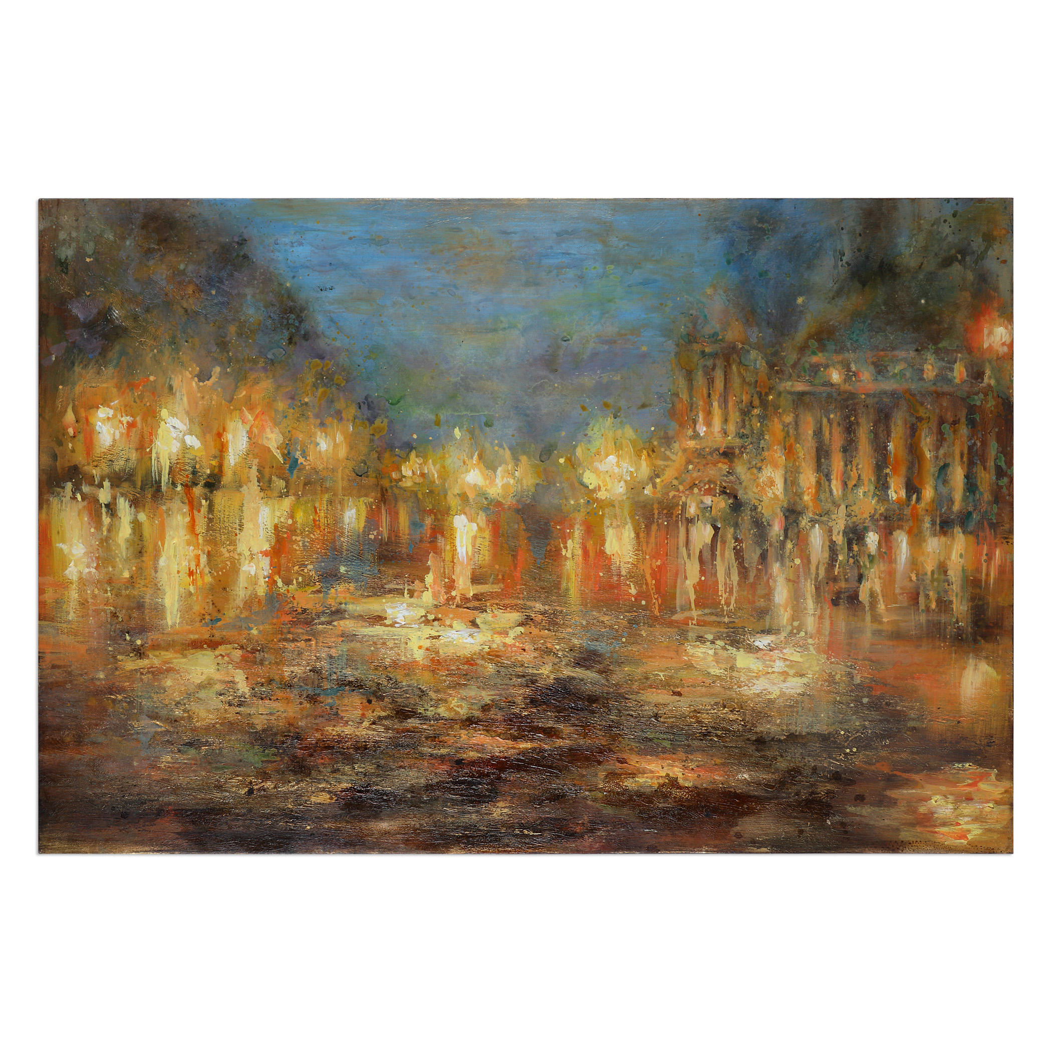 Uttermost Art Lights Of The City Abstract Art - Item Number: 31316