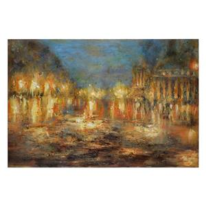 Uttermost Art Lights Of The City Abstract Art