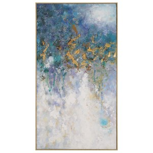 Uttermost Art Floating Abstract Art