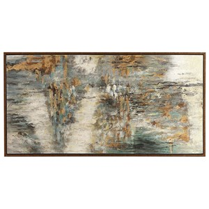 Uttermost Art Behind The Falls Abstract Art