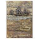 Uttermost Art Lavender Trees Landscape Art - Item Number: 31415