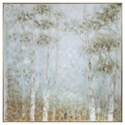 Uttermost Art Cotton Woods Hand Painted Canvas - Item Number: 31417