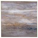 Uttermost Art Retrograde Hand Painted Canvas Art - Item Number: 31422