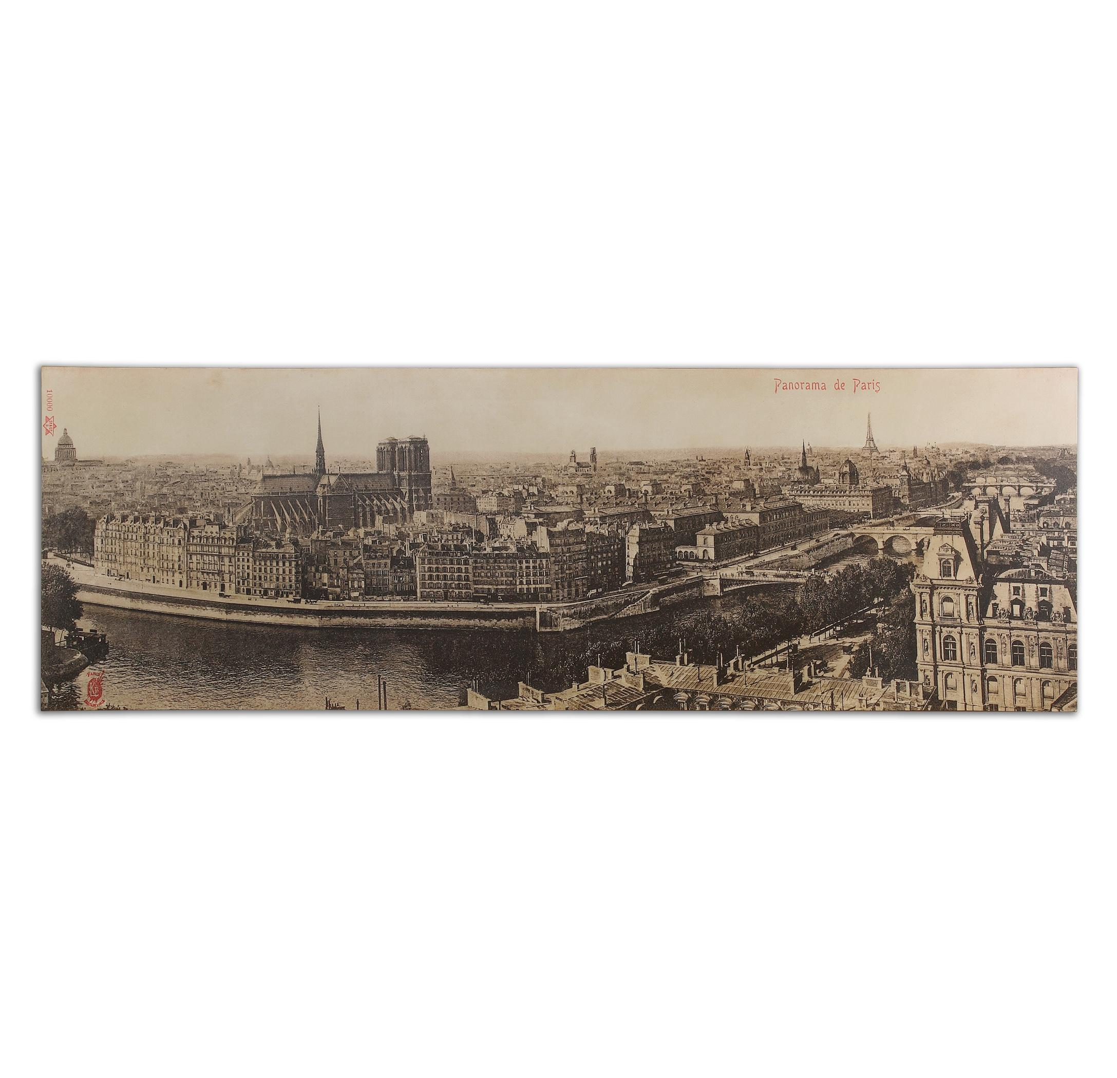 Uttermost Art Panorama De Paris Vintage Art - Item Number: 31500