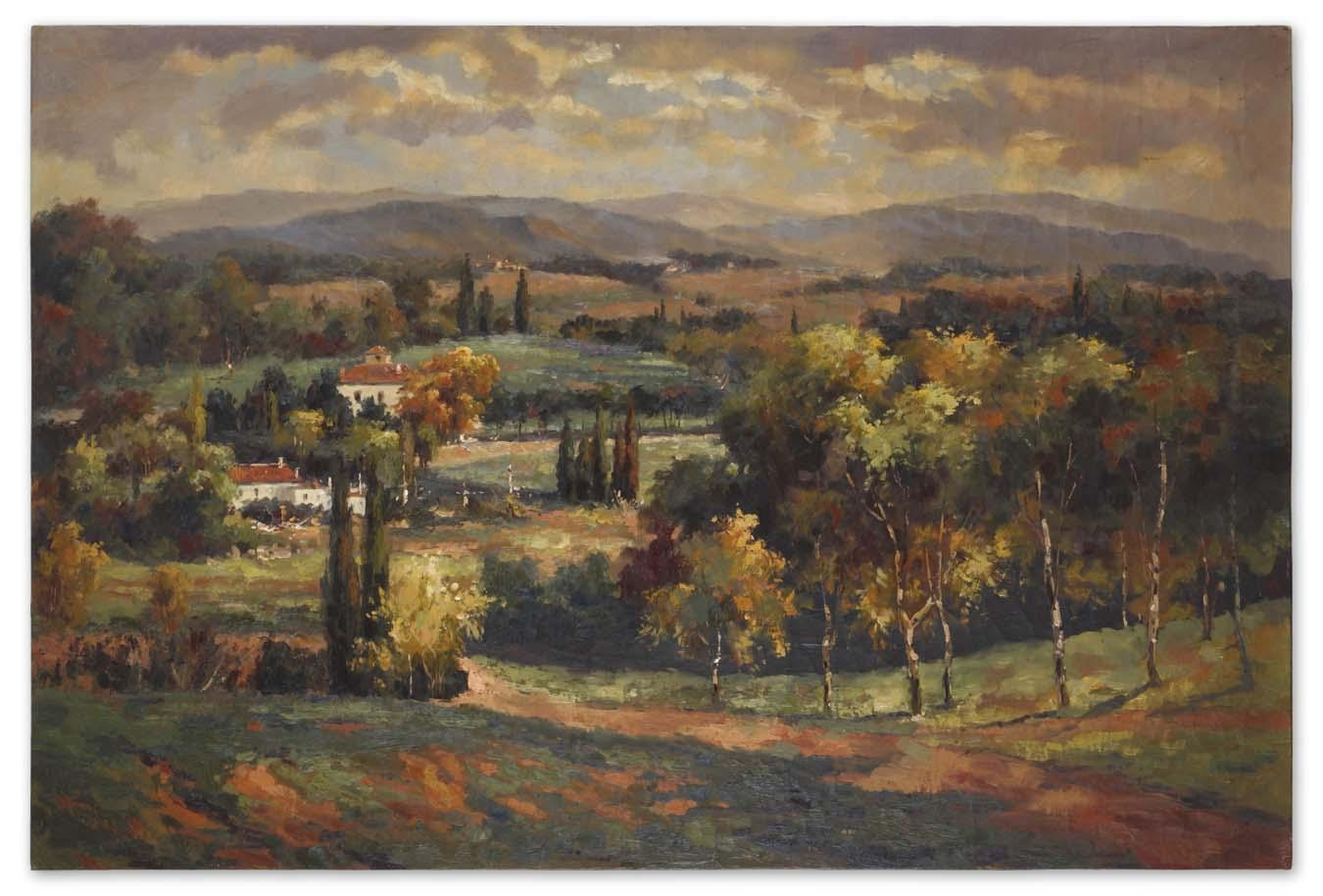 Uttermost Art Scenic Vista - Item Number: 32165