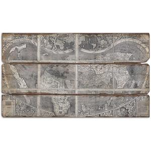 Uttermost Art Map Of The City