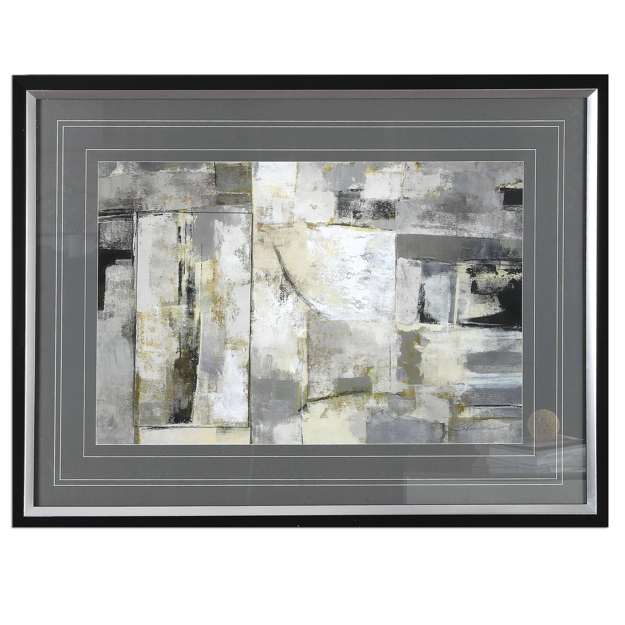 Uttermost Art Walking Down The Street Abstract Art - Item Number: 33615