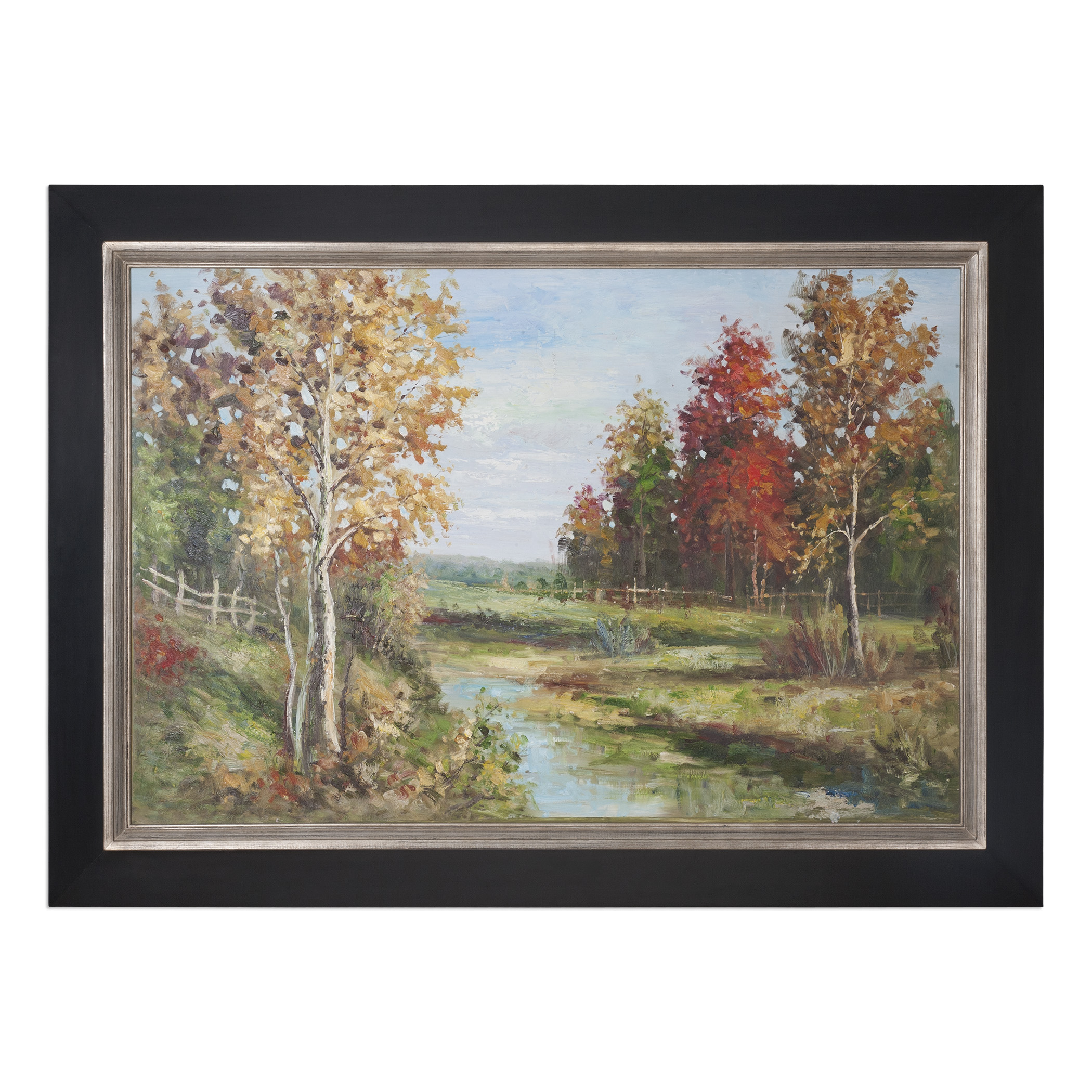Uttermost Art Country Creek Landscape Art - Item Number: 33635