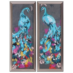 Uttermost Art Flower Feathers (Set of 2)