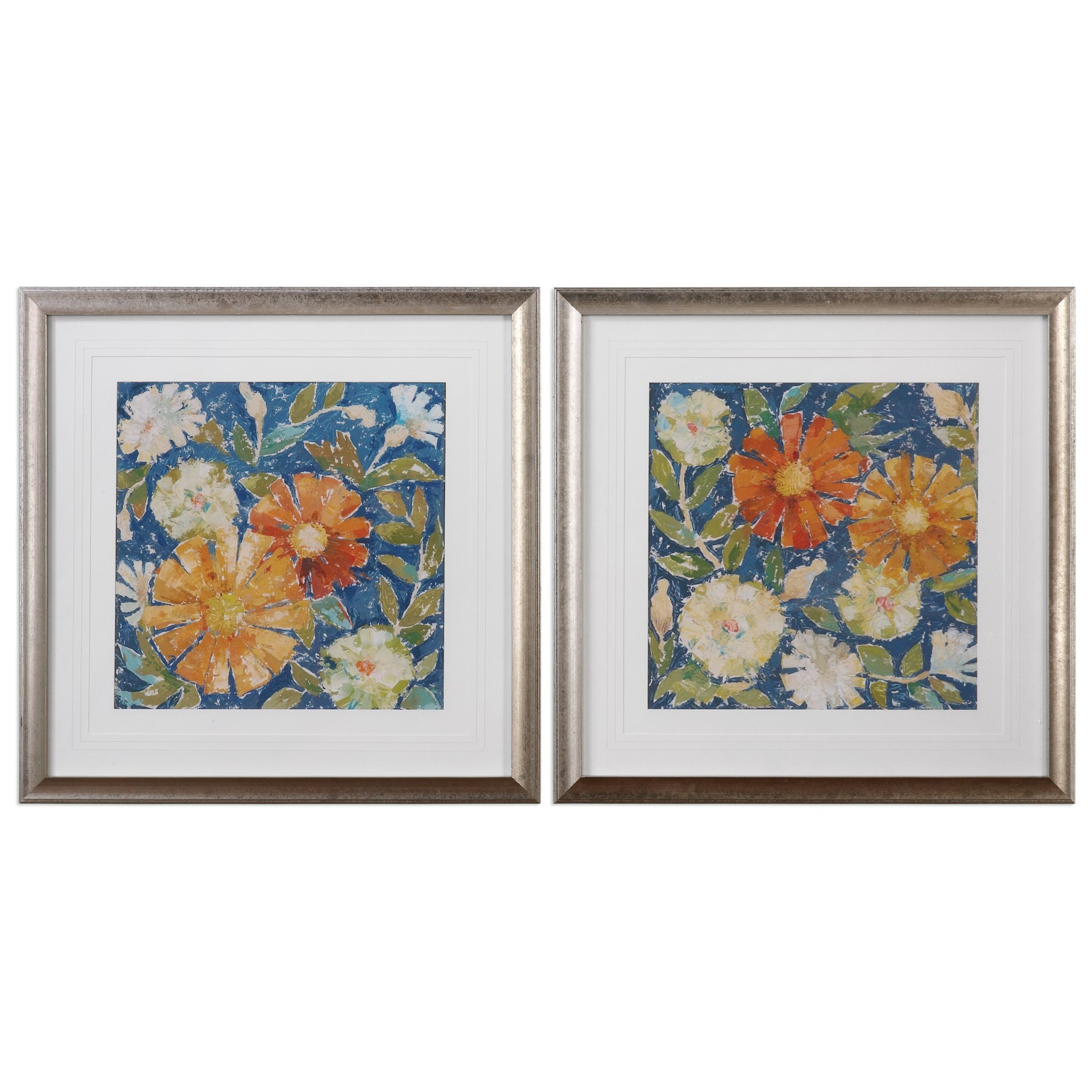 Uttermost Art April Flowers (Set of 2) - Item Number: 33646