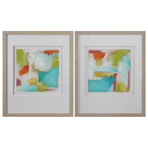 Uttermost Art Color Space (Set of 2)