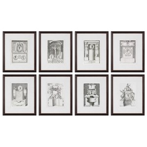Uttermost Art Monuments (Set of 8)