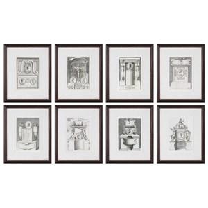 Uttermost Art Monuments (Set of 8)