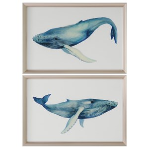 Uttermost Art The Whale's Song (Set of 2)