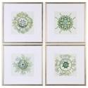 Uttermost Framed Prints Organic Symbols (Set of 4) - Item Number: 33656