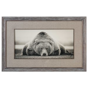 Uttermost Art Deep Sleep Bear Print