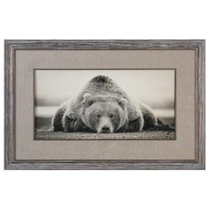Uttermost Art Deep Sleep Bear Print