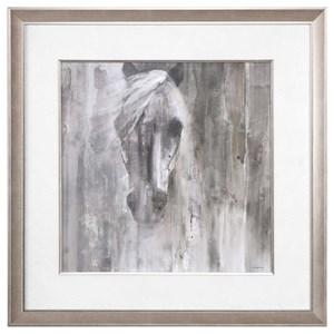 Uttermost Art Shadow Light Horse Print